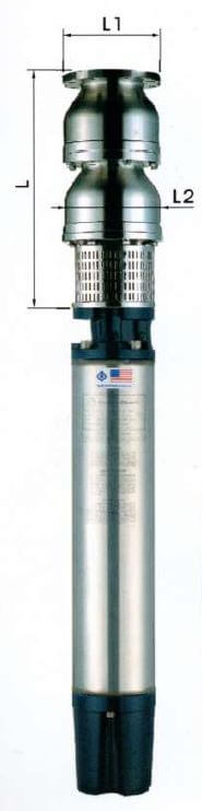 14 Inch Stainless Steel Submersible Pumps AB Series 25 HP -160HP