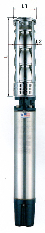 8 &10 Inch Stainless Steel Submersible Pumps AS Series
