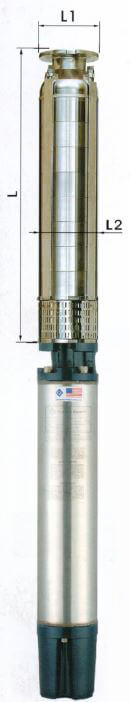 12 Inch Stainless Steel Submersible Pumps BD Series10 HP - 140HP